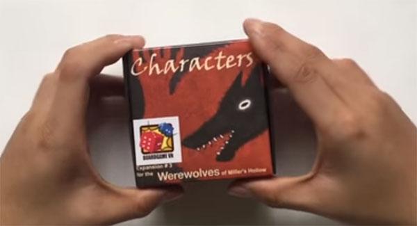 Ma sói character