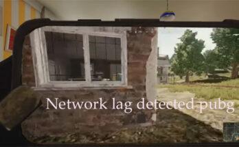 network lag detected pubg