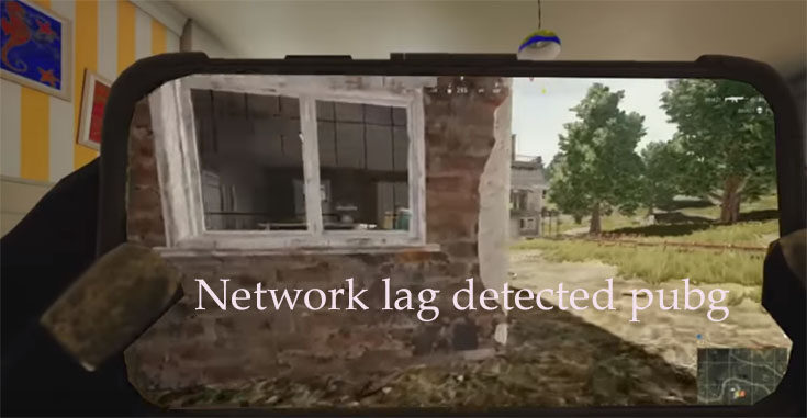 network lag detected pubg