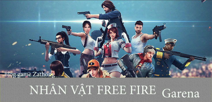 nhan-vat-game-free-fire